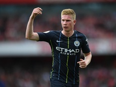 Kevin De Bruyne could feature for Machester City against Liverpool. GOAL