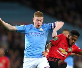 De Bruyne is out. GOAL