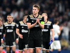 Ajax secured a famous victory at Tottenham in the first leg of their semi-final. GOAL