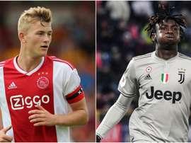 La Juventus studia il piano De Ligt: Kean nell'affare? Goal