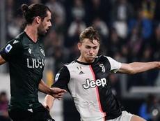 Juventus-Bologna, de Ligt tocca di braccio: per Irrati non è rigore