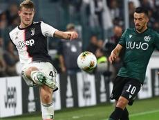 Tocco col braccio di De Ligt, il Bologna: 'L'arbitro doveva rivederlo al VAR'. Goal
