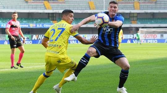 De Paoli Gosens Chievo Atalanta