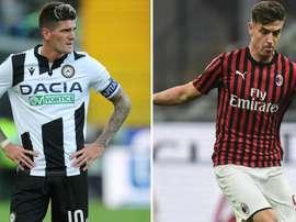 Repubblica: De Paul-Piatek, Milan e Udinese pensano allo scambio. Goal