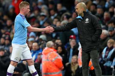 De Bruyne gave his full backing to the club after Man C beat West Ham. GOAL