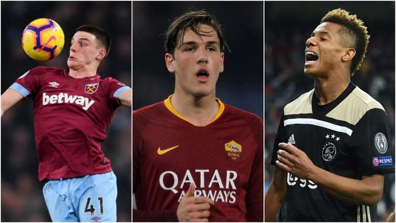 Rice, Zaniolo and Neres are among the six. GOAL