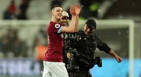 Declan Rice has been praised by manager Manuel Pellegrini. GOAL