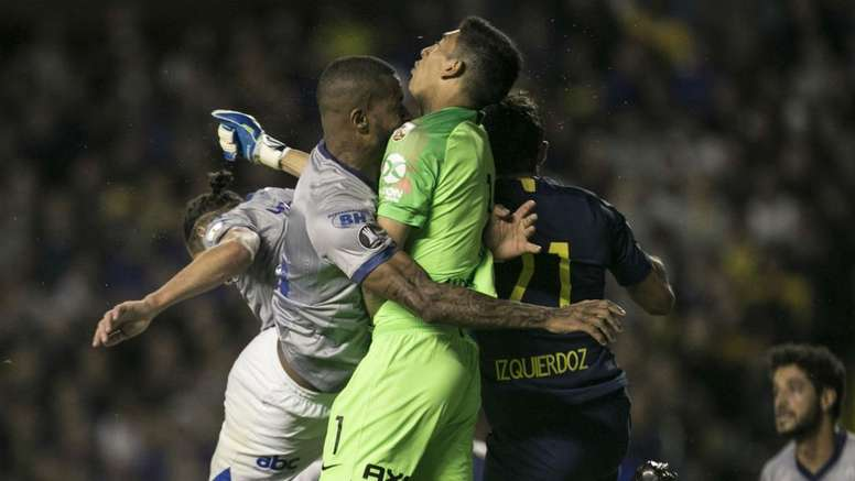 Dede was sent off for this incident. GOAL
