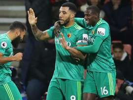 Deeney has praised the nature of his sides clash with Bournemouth. GOAL