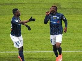 Demba Camara rejoint Troyes. AFP