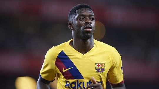 Juve consulta Barça por Dembélé para o lugar de Dybala. Goal