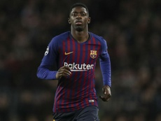 Dembele has struggled with a hamstring injury of late. GOAL