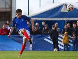 Denis-Will Poha, France U20. GOAL