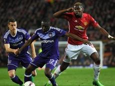 Dennis Appiah - Anderlecht. GOAL