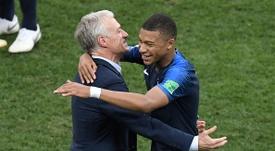 Deschamps a averti Mbappé. Goal