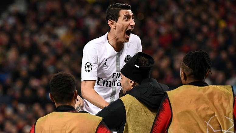 PSG sai em vantagem em noite de vingança pessoal de Di María