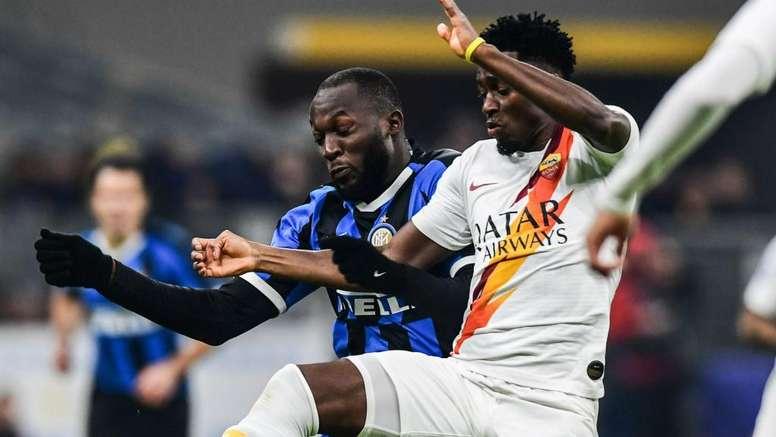 Inter, contro la Roma prima partita senza goal in stagione per i nerazzurri