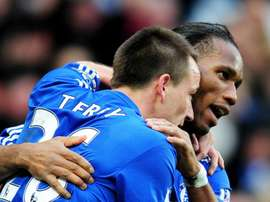 Terry says he hated playing against Didier Drogba in training for Chelsea. GOAL