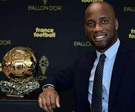 Ballon d'Or - Drogba dévoile sa petite préférence. AFP