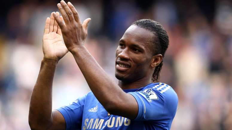 Drogba will recieve the award from UEFA. GOAL