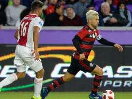 Diego Ajax Flamengo Florida Cup.