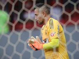 Diego Alves avalia estreia do Fla na Libertadores.