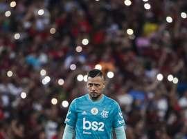 Mesmo sem Diego Alves. Goal