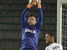 Diego Alves Independiente Santa Fe Flamengo Copa Libertadores. Goal