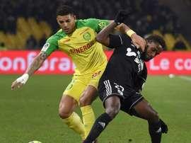 Nantes tombe. Goal