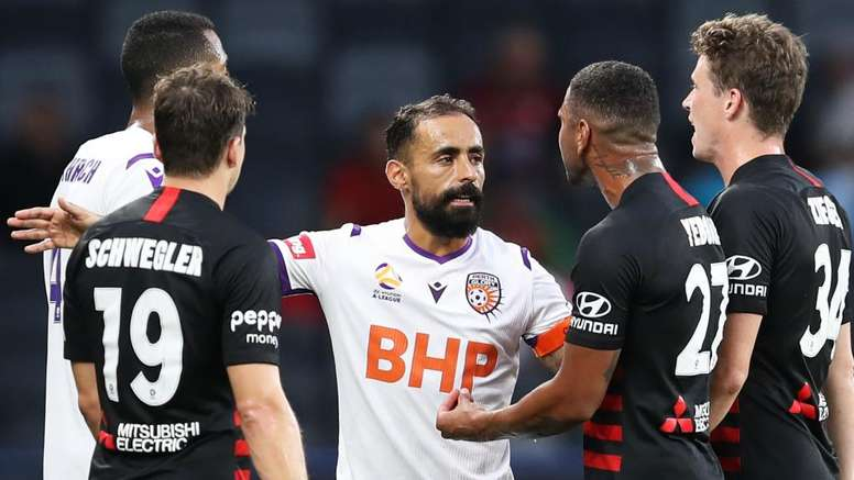 Perth Glory came out on top in the clash with Western Sydney Wanderers. GOAL