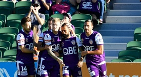 Castro starred as Perth Glory defeated Western Sydney Wanderers. GOAL