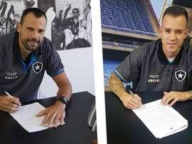 Diego Cavalieri e Ferrareis - Botafogo.
