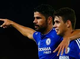 Diego Costa; Oscar Chelsea