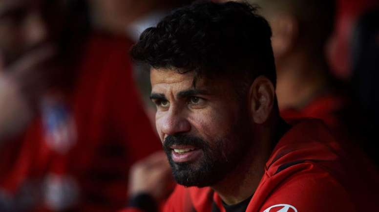 L'attaccante dell'Atletico Diego Costa.
