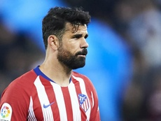 Costa is currently banned after seeing red versus Barcelona. GOAL