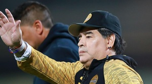 Maradona has spoken about his exit from Mexican football. GOAL