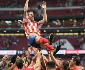 Felipe has been brought in to replace Godín at Atlético. GOAL