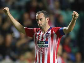 Godin, Koke and Diego Costa all missed training on Thursday. GOAL
