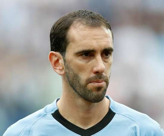 Diego Godín made history on Monday. GOAL
