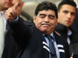 Maradona is the new manager of Belarusian side Dinamo Brest. GOAL