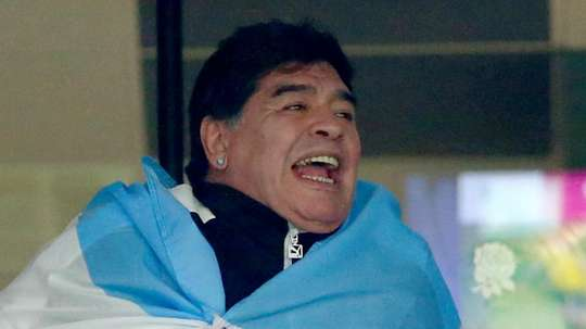 Maradona was loved by many. GOAL