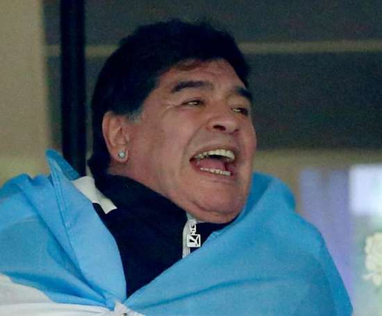 Maradona was loved by many. GOAL