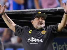 Diego Maradona Dorados Copa MX Apertura 2018. Goal