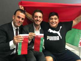Maradona será presidente e 'chefão geral' de clube na Bielorrúsia