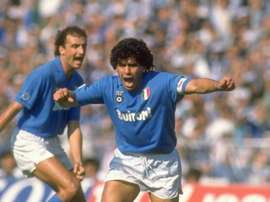 Diego Maradona at Napoli in Serie A, 1988. GOAL