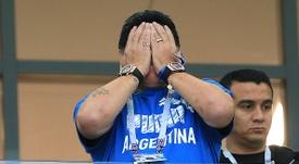 Maradona detona Sampaoli e elogia Messi.Goal