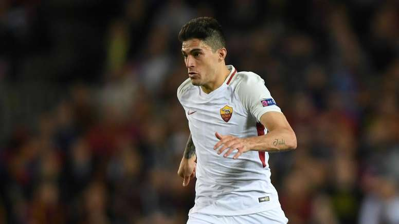 Perotti is ruled out of the second leg against Liverpool. GOAL
