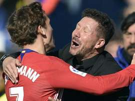 No tension between coach and player after Griezmann announced his departure. GOAL