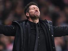 Simeone a été sanctionné suite à son geste lors du match face à la Juve. Goal
