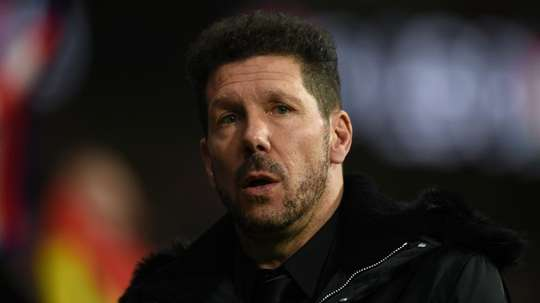 Simeone is determined to put all his efforts into the title race. GOAL